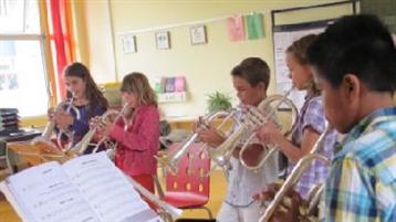 Gratis muziekinstrument voor leden van de muziekvereniging NAG