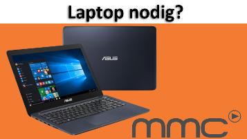 Bijdrage laptop - twv €500,-