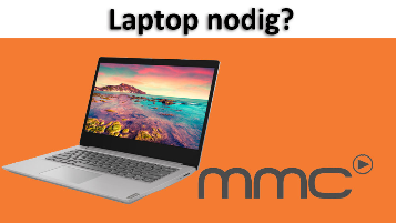 Bijdrage laptop - twv €350,-