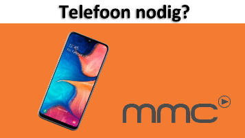 Bijdrage telefoon - twv €150,-