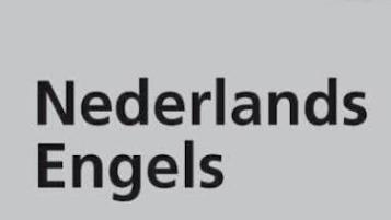 Woordenboek Nederlands - Engels